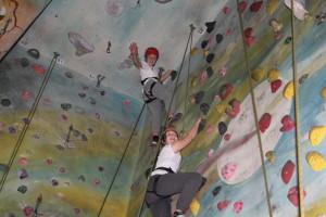 Rock Climbing with PYG